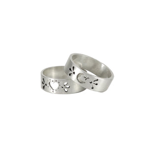 Cresent Cut Out Ring