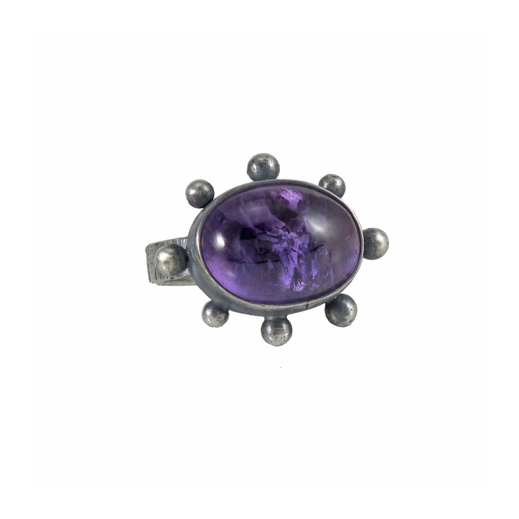 unEarthed ring with amethyst