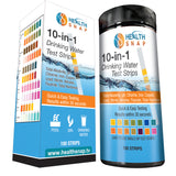 10-in-1 Water Test Strips - Rapidly Test for Fluoride, Lead, pH, Chlorine & More
