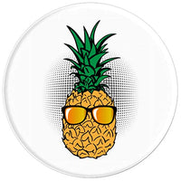 Pineapple Shades Aloha Beach Sun PopSockets Grip Stand for Phones & Tablets