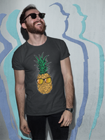 Pineapple Shades Tropical Fruit Beach Paradise Sun T-Shirt