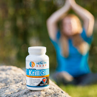 Sustainably Sourced Antarctic Krill Oil 1000mg, 100% Pure Omega 3 Fatty Acids & Astaxanthin