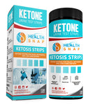 Urine Ketosis Test Strips, Quick and Easy Testing for Ketones, 130 Keto Urinalysis Strips - Perfect for Those on a Low Carb, Paleo, or Ketogenic Diet