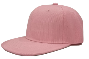 Baby Pink Junior Snapback - Plain and Personalised