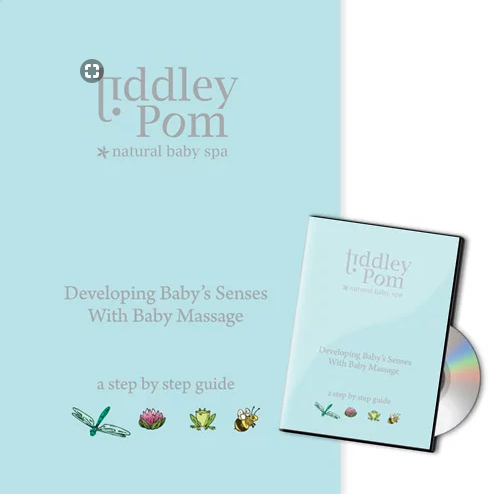 Baby Massage and Aromatherapy DVD - The Monkey Box