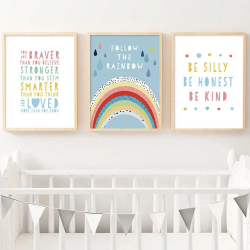 Follow The Rainbow Prints