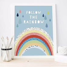 Load image into Gallery viewer, Follow The Rainbow Prints