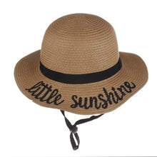 Load image into Gallery viewer, Little Sunshine Straw Hat