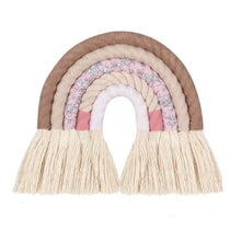 Load image into Gallery viewer, 5 Arch Macrame Rainbow - The Monkey Box