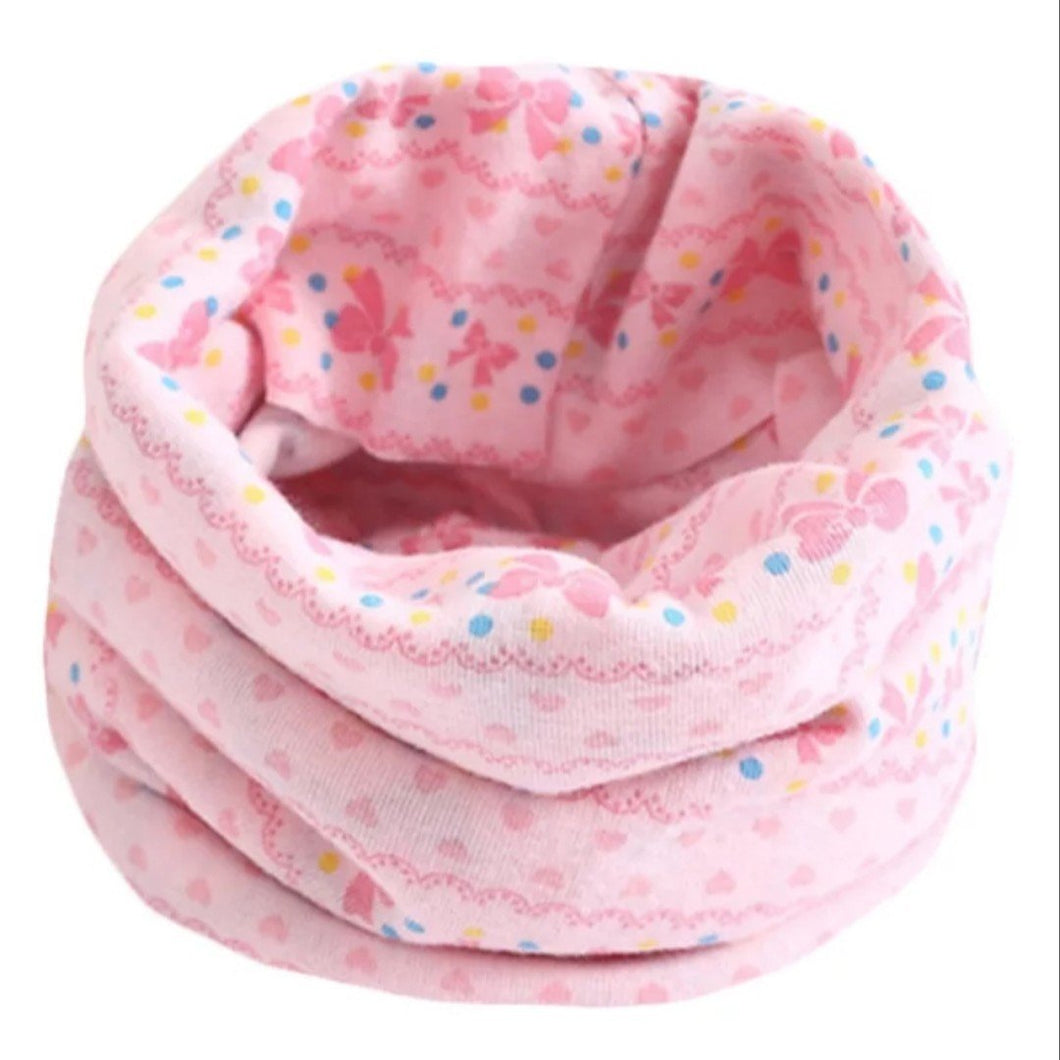 Pink Bow Snood
