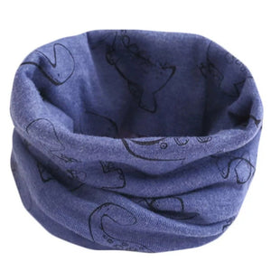 Blue Dinosaur Snood