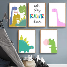 Load image into Gallery viewer, Dinosaur Gang Prints