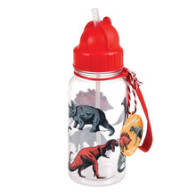 Load image into Gallery viewer, Dinosaur Water Bottle