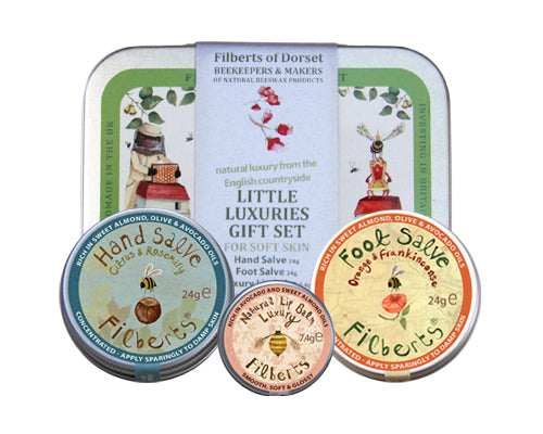 Filberts of Dorset Little Luxuries Gift Tin - The Monkey Box
