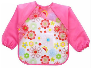 Long Sleeve Messy Bibs (7 designs) - The Monkey Box