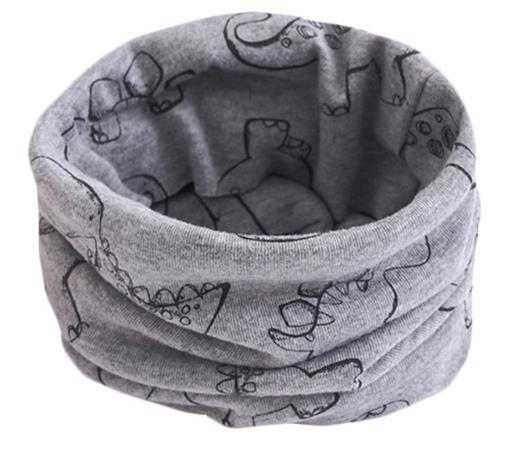 Grey Dinosaur Snood