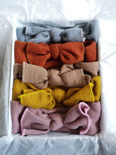 Load image into Gallery viewer, Knitted Bow Headbands (5 Colours) - The Monkey Box