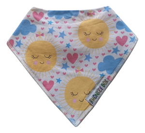 Sun Dribble Bib - The Monkey Box