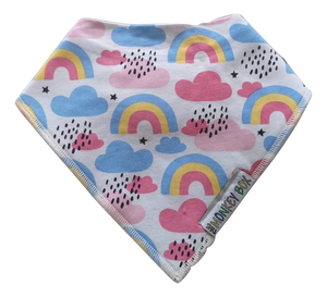 Rainbow Dribble Bib - The Monkey Box