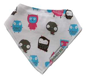 Owl Dribble Bib - The Monkey Box