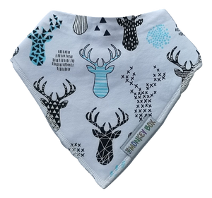 Funky Deer Dribble Bib - The Monkey Box