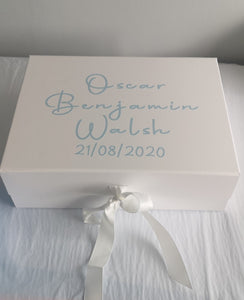 A5 Shallow Luxury White Gift box
