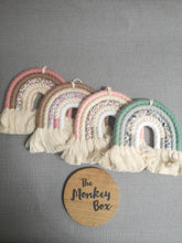 Load image into Gallery viewer, 5 Arch Mini Macrame Rainbow - Beige