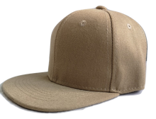 Load image into Gallery viewer, Light Khaki Junior Snapback - Plain and Personalised