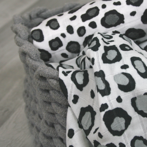 Leopard Print Muslin - Muslinz - The Monkey Box