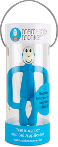 Matchstick Monkey Teething Toy - Blue