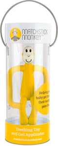 Matchstick Monkey Teething Toy - Yellow