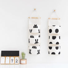 Load image into Gallery viewer, Childrens Bedroom storage hangers - The Monkey Box