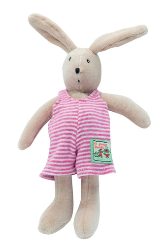 Moulin Roty Small Sylvain Soft Toy the rabbit La Grande Famille - The Monkey Box