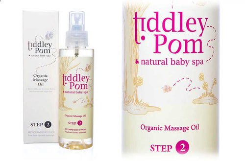 Tiddley Pom Organic Massage Oil - The Monkey Box