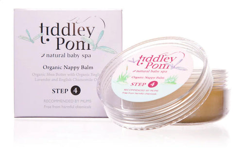 Tiddley Pom Organic Nappy Balm - The Monkey Box