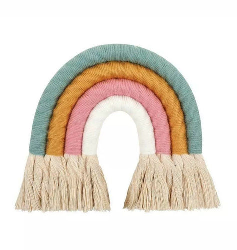 Pastel Macrame Rainbow - The Monkey Box