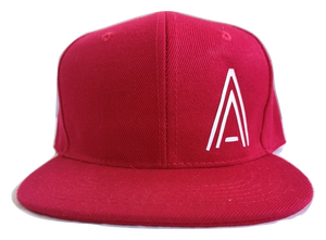 Red Junior Snapback - Plain and Personalised