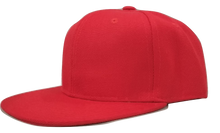Load image into Gallery viewer, Red personalised childrens snapback -The Monkey Box