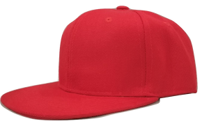 Red personalised childrens snapback -The Monkey Box