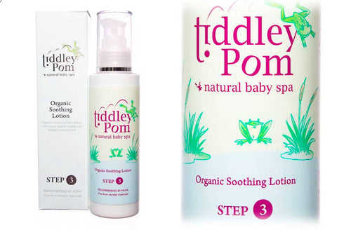 Tiddley Pom Organic Soothing Lotion - The Monkey Box