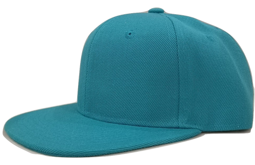Turquoise Junior Snapback - Plain and Personalised