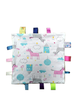 Load image into Gallery viewer, Unicorn Taggy Comforter
