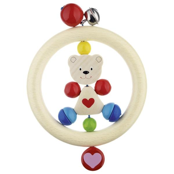 Heimess Touch Ring - Bear Heart - The Monkey Box