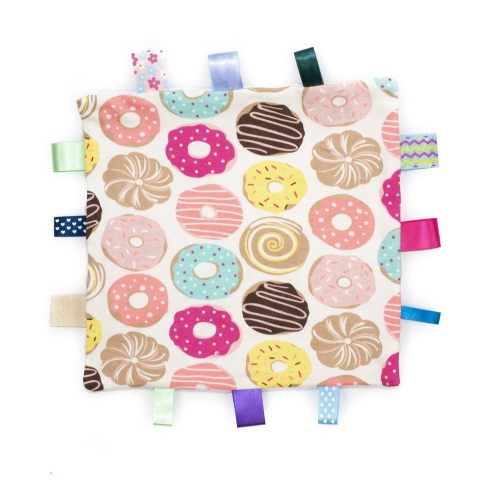 Doughnut Taggy Comforter Front