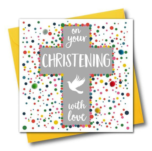 Christening Day Greeting Card - The Monkey Box