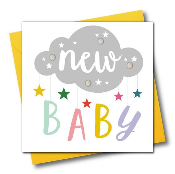 New Baby Greeting Card - The Monkey Box
