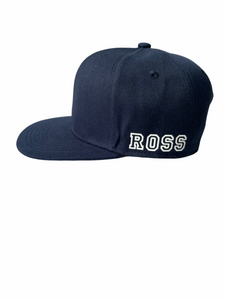 Navy Junior Snapback - Plain and Personalised