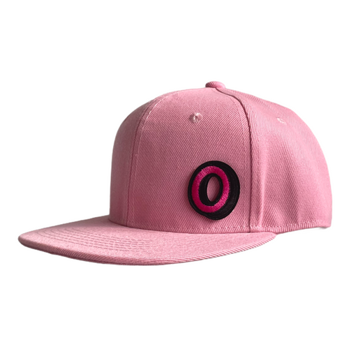 Baby Pink Infant Snapback - Plain and Personalised