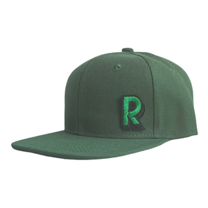 Bottle Green Junior Snapback - Plain and Personalised