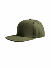 Load image into Gallery viewer, Olive Junior Snapback - Personalised or Plain